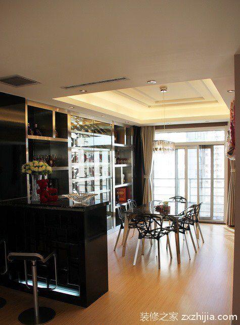 品味空间的极致质感四室两厅欧式餐厅美图_装修之家装修效果图图片