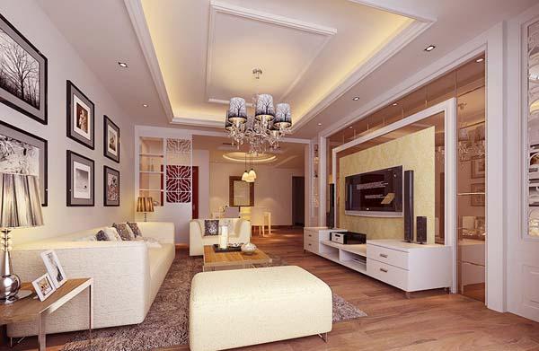 欧式经典款式客厅装修效果图大全2014图片高贵而又显大气图片