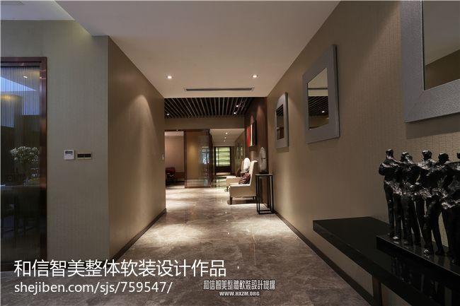 过门石颜色搭配装修效果图   中式风格 家装灰色瓷砖 铺贴 效高清图片
