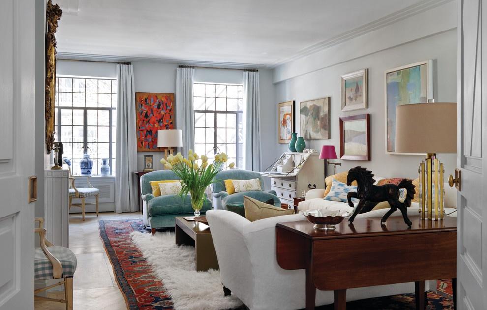 90平米两室两厅客厅装修效果图 高清图片