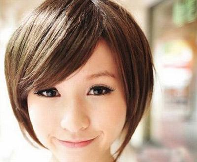适合三十岁女人的短发发型设计图片