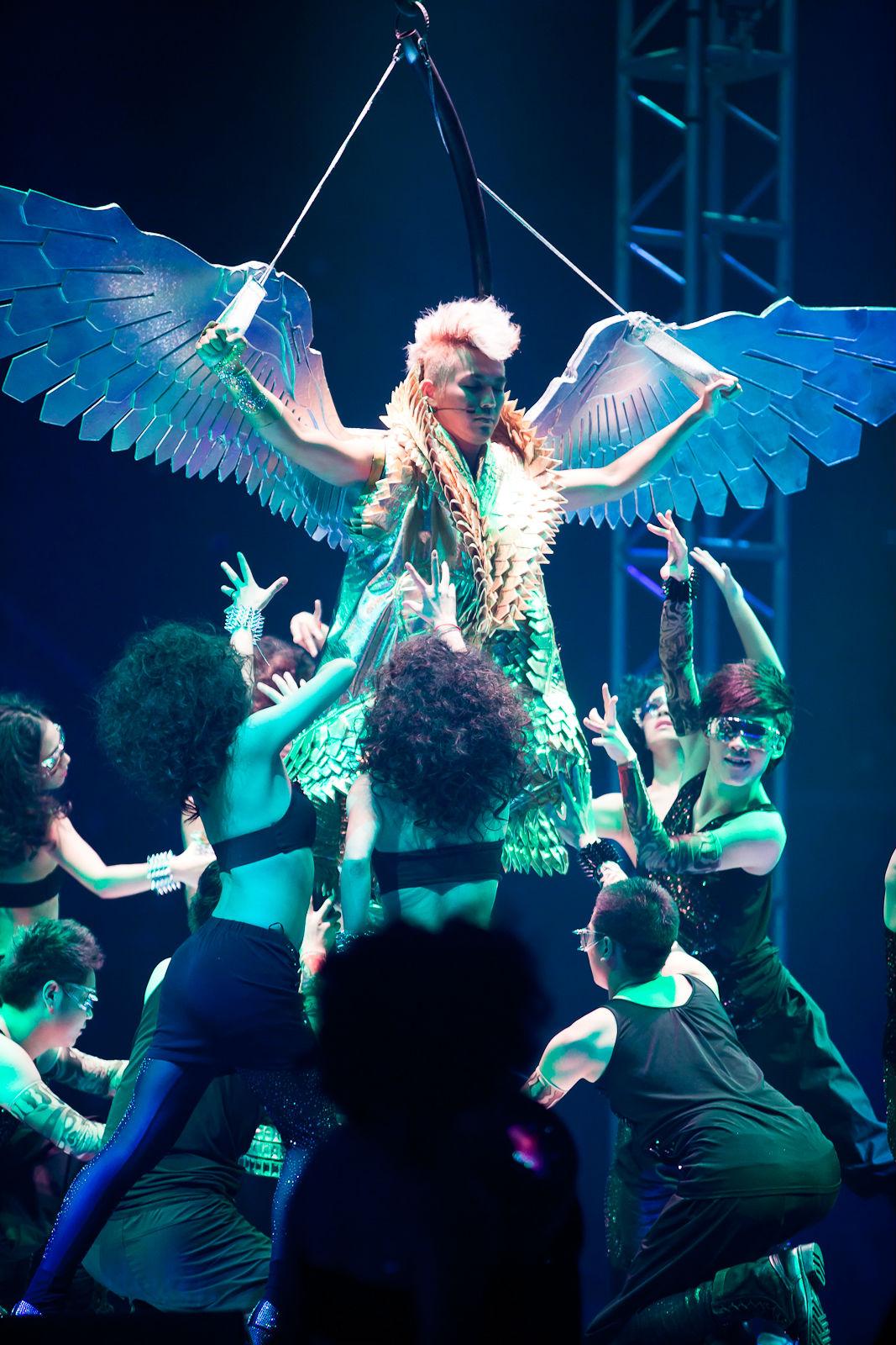 钟汉良 201110上海演唱会 BY真我自拍室图片