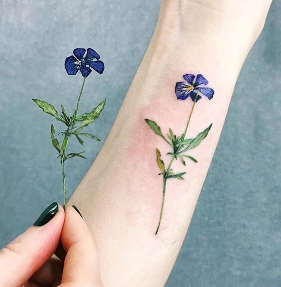 超好看的纹身图案女分享展示图片