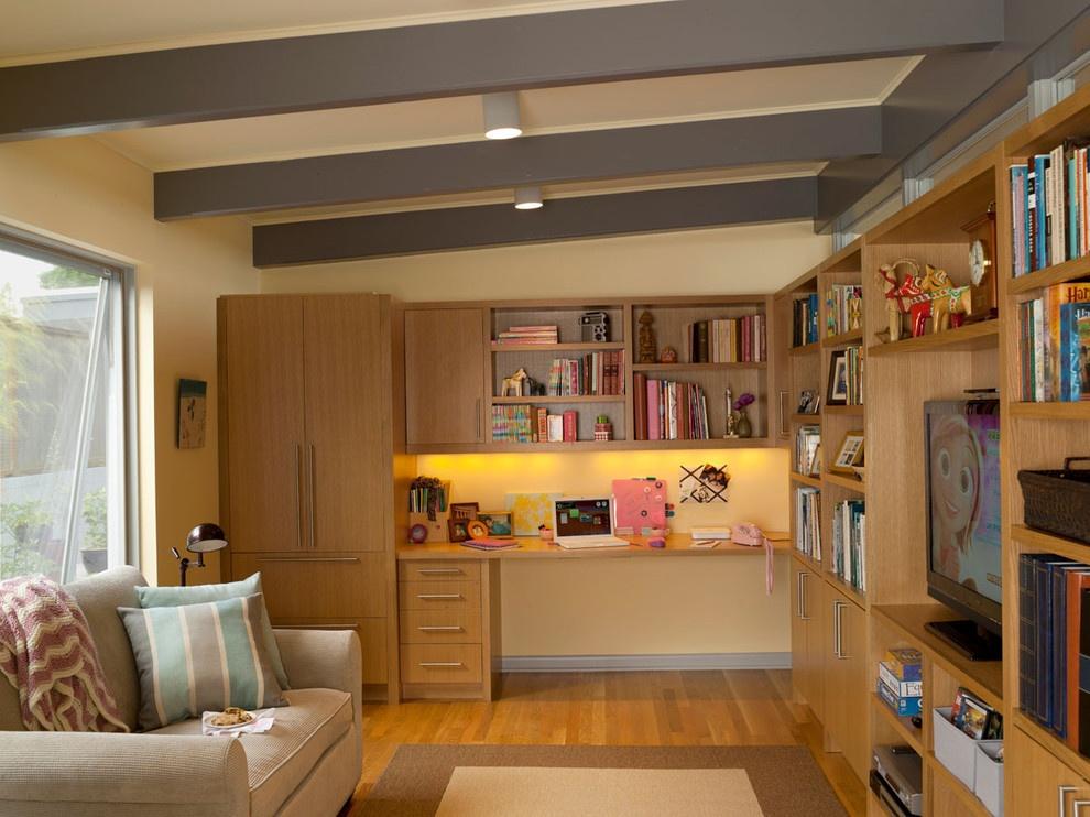 家庭小客厅书房书柜装修效果图大全2013图片 高清图片