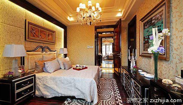 欧式高端奢华卧室装修经典案例_装修之家装修效果图图片