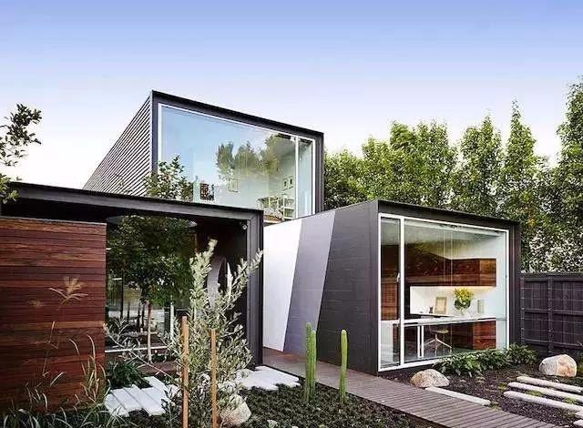 回乡下造了栋集装箱豪宅,美的一塌糊涂图片