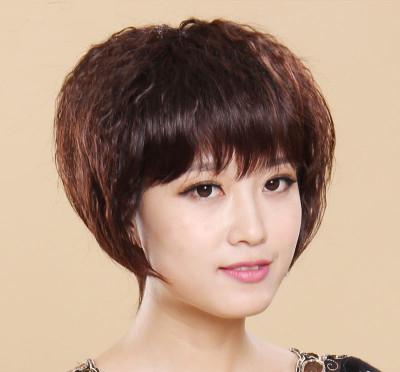 四十岁的女人烫发发型分享展示图片图片
