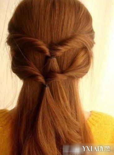 长发发型扎法教你公主头直发发型扎法步骤图片