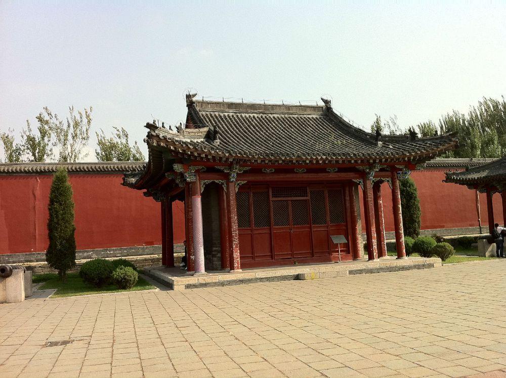 宫殿建筑的反映,此建筑布局为中国古代宫廷建筑史所图片