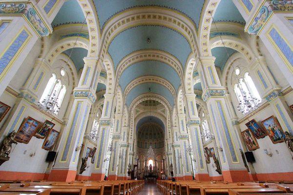 天主教堂,罗曼式建筑风格图片图片
