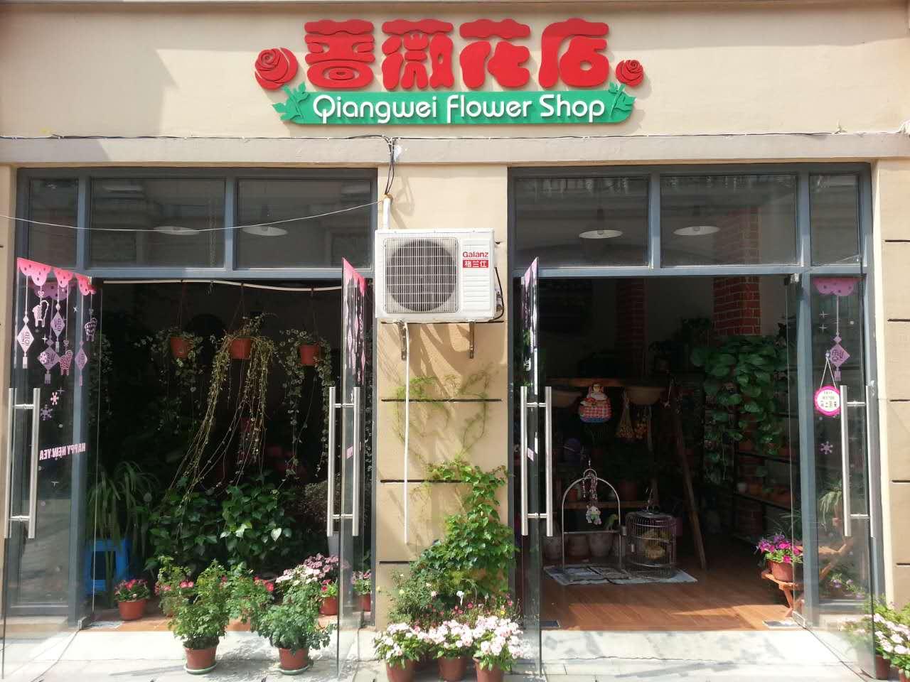 蔷薇花店图片