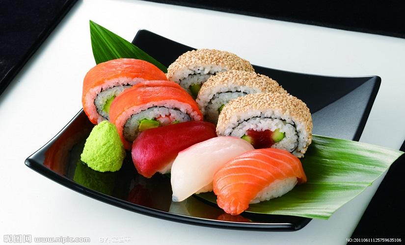 秋葵寿司料理