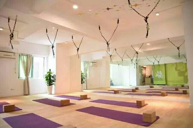 飘空中瑜伽会所