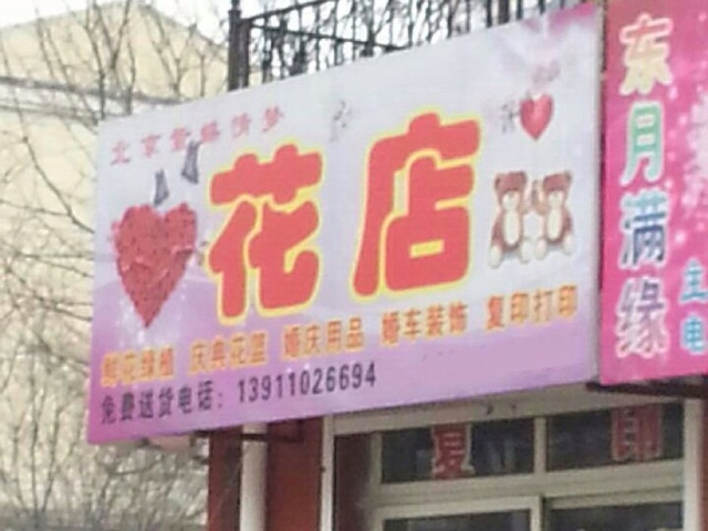 北京紫蝶情梦花店