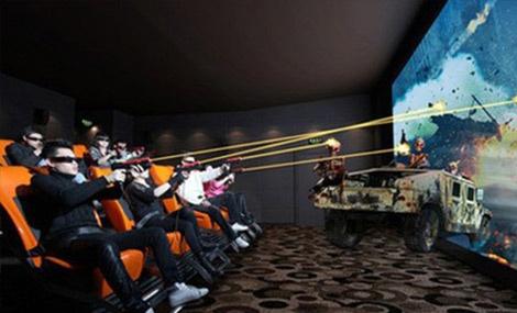 7D互动影院 - 大图
