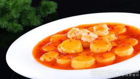 泰汁日本豆腐_三虾泰汁日本豆腐