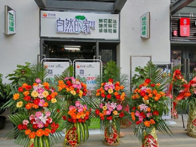 自然的家花卉坊(总店)