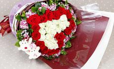 花奈尔33枝玫瑰