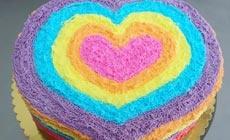 诺卡欧8英寸彩虹蛋糕