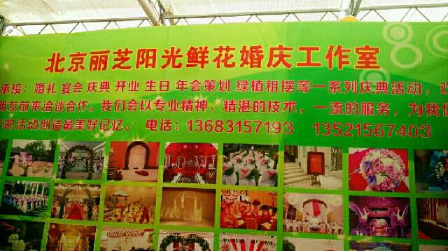 北京丽芝阳光鲜花婚庆工作室(九州婚庆城店)