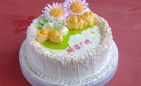 岁岁乐艺术蛋糕