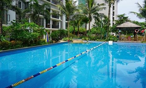 学苑公馆游泳池