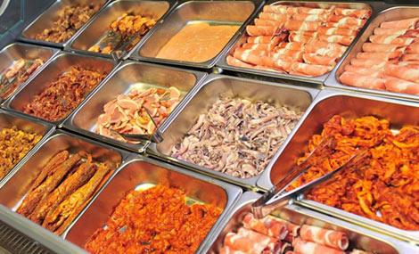 金谷南韩式自助烧烤餐厅图片