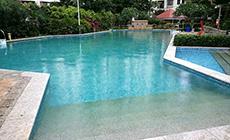怡心园小区游泳