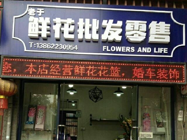 老于鲜花批发零售