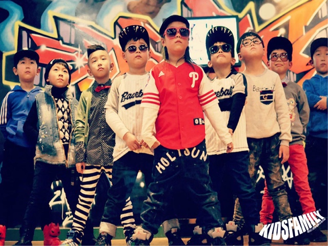 南京KidsFamily少儿街舞(大行宫店)
