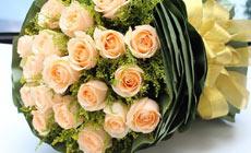 绿韵花艺19枝玫瑰