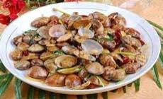 茗茗海鲜风味烤生蚝