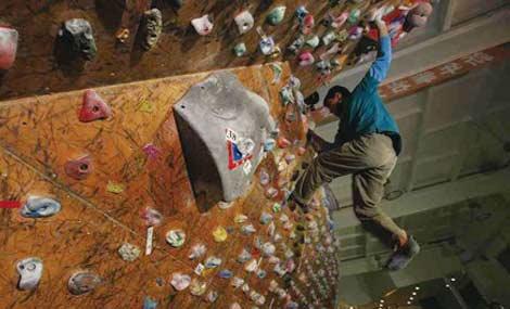 奥莱室内攀岩馆 - 大图