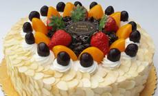 美味多8英寸水果蛋糕