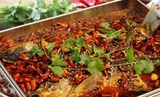成都小吃巫山烤鱼