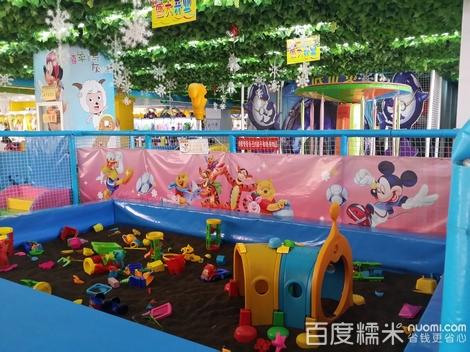 梦幻堡儿童游乐场图片