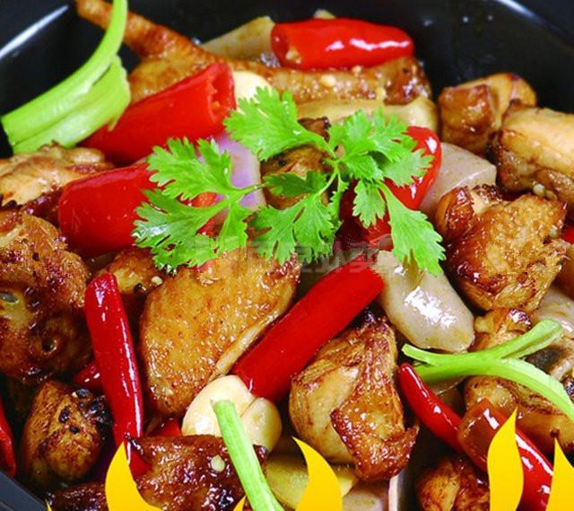 干锅鸡美食网鲶鱼640_569做法豆腐能一起吃吗图片