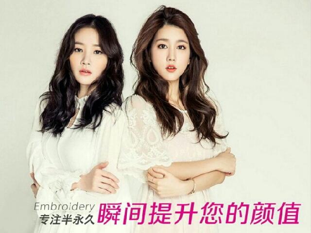 领秀网韩式半长久纹眉美瞳线美丽馆(西局店)