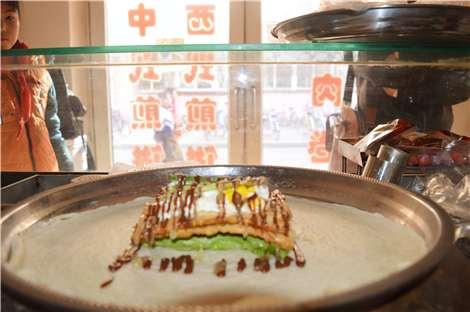 西式煎饼果子图片