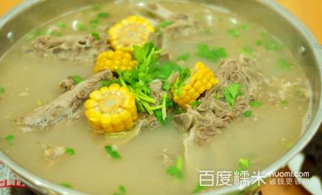 【董福和3至4人餐全羊】滁州董福和团购馆团排骨烩酸菜菜图片