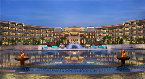 杭州尊蓝钱江豪华精选酒店--静岸标帜餐厅&酒吧 室外露台