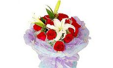 我们的鲜花9支玫瑰