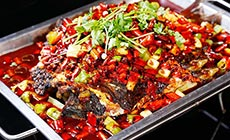 巫山烤全鱼两人餐