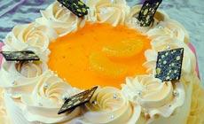 龙香村8英寸鲜奶蛋糕