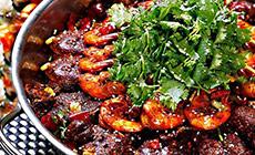 巫山烤全鱼干锅鸭头双人餐