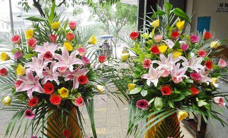 大花轿鲜花庆典