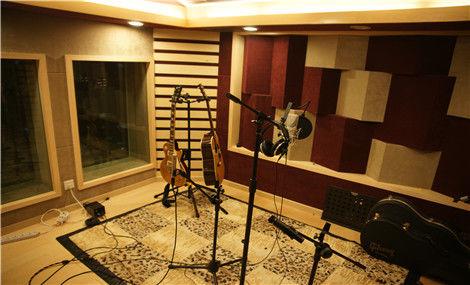 风景音乐录音棚