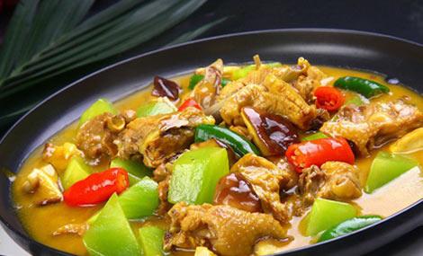 铭鹤缘黄焖鸡米饭