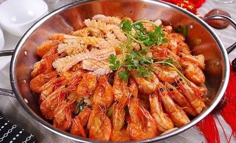 谢记王婆大虾图片