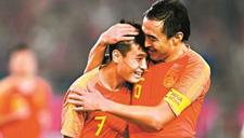 国足热身赛2:0击败叙利亚